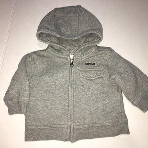 Baby Gap Grey Sweater Jacket 3-6 Months